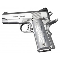 1911 Officers Model Tribal Aluminum - Clear Anodized