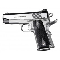 1911 Officers Model Checkered G10 - Black