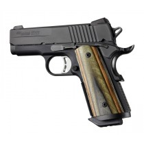 1911 Officers Model Lamo Camo S&A Mag.-well