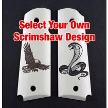 1911 Govt. Model- Select Your Own Scrimshaw Design