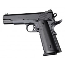 1911 Govt. Model S&A/Techwell Mag Well G10 - Solid Black