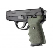SIG Sauer P239 Rubber Grip with Finger Grooves OD Green