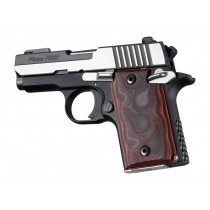 SIG Sauer P938 Ambi Smooth G-Mascus Red Lava G10