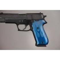 SIG Sauer P220 American Flames Aluminum - Blue Anodize