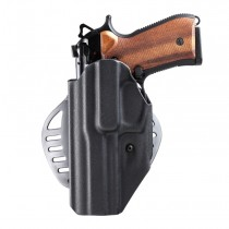 Beretta 92: ARS Stage 1 Carry Holster (Left Hand) - Black