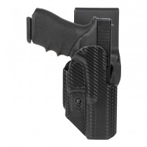GLOCK 17, 18, 22, 31, 37, 47: ARS Stage 1 Sport Holster (Right Hand) - CF Weave