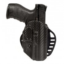 Walther PPQ: ARS Stage 1 Carry Holster (Right Hand) - CF Weave