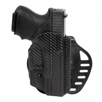 GLOCK 26, 27, 28, 33, 39: ARS Stage 1 Carry Holster (Right Hand) - CF Weave