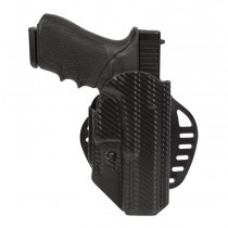 GLOCK 17, 18, 22, 31, 37, 47: ARS Stage 1 Carry Holster (Right Hand) - CF Weave
