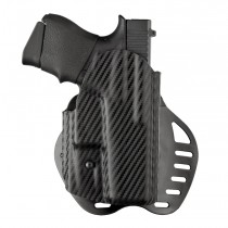 GLOCK 43: ARS Stage 1 Carry Holster (Right Hand) - CF Weave