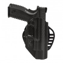 Springfield XDM: ARS Stage 1 Carry Holster (Right Hand) - CF Weave