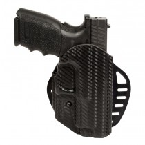 "Springfield XD9 4"" Barrel: ARS Stage 1 Carry Holster (Right Hand) - CF Weave"