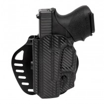 GLOCK 26, 27, 28, 33, 39: ARS Stage 1 Carry Holster (Left Hand) - CF Weave
