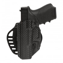 GLOCK 19, 23, 25, 32, 38, 45: ARS Stage 1 Carry Holster (Left Hand) - CF Weave