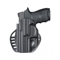 ARS Stage 1 - Carry Holster Sig Sauer P250, P320 Compact Left Hand CF Weave
