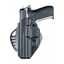 ARS Stage 1 - Carry Holster Sig Sauer P220, P226, P227 Left Hand CF Weave