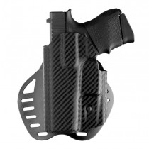GLOCK 43: ARS Stage 1 Carry Holster (Left Hand) - CF Weave