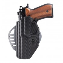 Beretta 92: ARS Stage 1 Carry Holster (Left Hand) - CF Weave