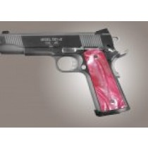 1911 Govt. Model Pink Pearlized-Polymer S&A/Techwell Mag Well, Ambi-Cut
