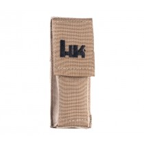 """HK 5.5"""" Large MOLLE Velcro Pouch - FDE"""