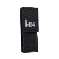 """HK 5.5"""" Large MOLLE Velcro Pouch - Black"""