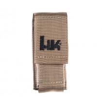 """HK 4.5"""" Medium MOLLE Velcro Pouch - FDE"""