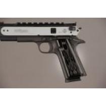 1911 Govt. Model 9/32 Thick Flames Aluminum - Black Anodized