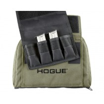 "Medium Pistol Bag w/ 4 Magazine Pouch - OD Green 9"" Tall 12"" Long"