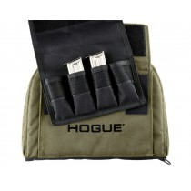 OD Green Medium Pistol Bag with 4 Magazine Pouch