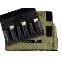 OD Green Large Pistol Bag with 6 Magazine Pouch