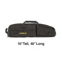 "Medium Double Rifle Bag - Black 10"" Tall 40"" Long"
