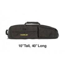 "Medium Double Rifle Bag - Black 10"" Tall 40"" Long"