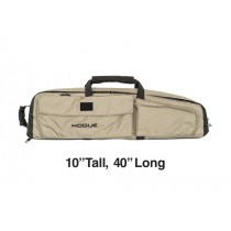 "Medium Double Rifle Bag - FDE 10"" Tall 40"" Long"