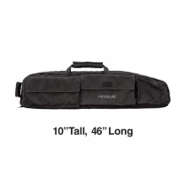 "Large Double Rifle Bag - Black 10"" Tall 46"" Long"