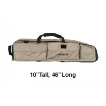 "Large Double Rifle Bag - FDE 10"" Tall 46"" Long"