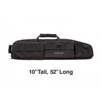 "Extra Large Double Rifle Bag - Black 10"" Tall 52"" Long"