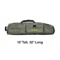 """Extra Large Double Rifle Bag - OD Green 10"""" Tall 52"""" Long"""