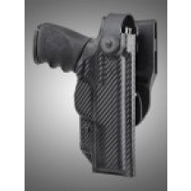 ARS Stage 2 - Duty Holster S&W M&P 9MM, 40S&W, 357SIG Right Hand CF Weave