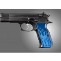 TZ-75 - EAA. P9 Flames Aluminum - Blue Anodize