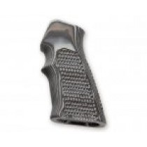 AR15 / M16 Piranha Grip G10 - G-Mascus Black/Grey