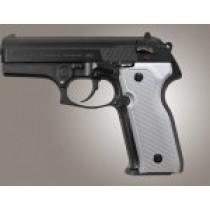 Beretta Cougar 8000 - 8040 - 8357 Checkered Aluminum - Matte Clear Anodize