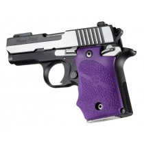 SIG Sauer P938 Ambi Safety Rubber Grip with Finger Grooves Purple
