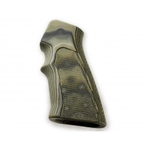 AR15 / M16 Checkered G10 - G-Mascus Green