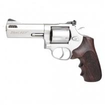 Taurus Tracker/Judge: Checkered Hardwood Grip - Rosewood