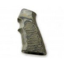 AR15 / M16 Piranha Grip G10 - G-Mascus Green