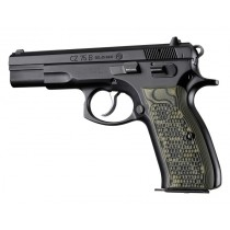 CZ-75 - CZ-85 Piranha Grip G10 - G-Mascus Green