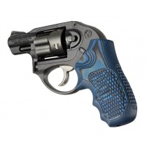 Ruger LCR/LCRx: Blue Lava Piranha G-Mascus G10 Grip