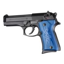 Beretta 92 Compact Tribal Aluminum - Blue Anodize