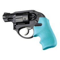 Ruger LCR/LCRx Finger Groove Rubber Tamer Cushion Grip Aqua