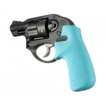 Ruger LCR No Finger Groove Rubber Tamer Cushion Grip Aqua